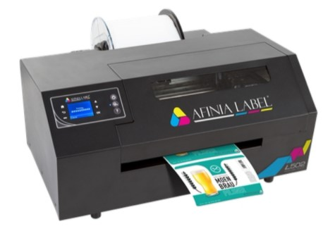 Get yourself the right pigment label printer such as Afinia L502 Colour Printer