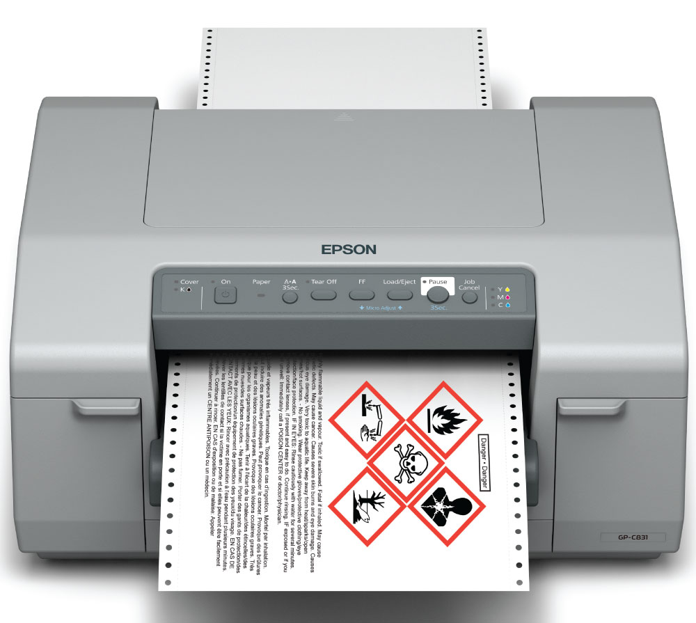Epson GP-C831 Discontinued and Replaced by the New Epson ColorWorks C6500A