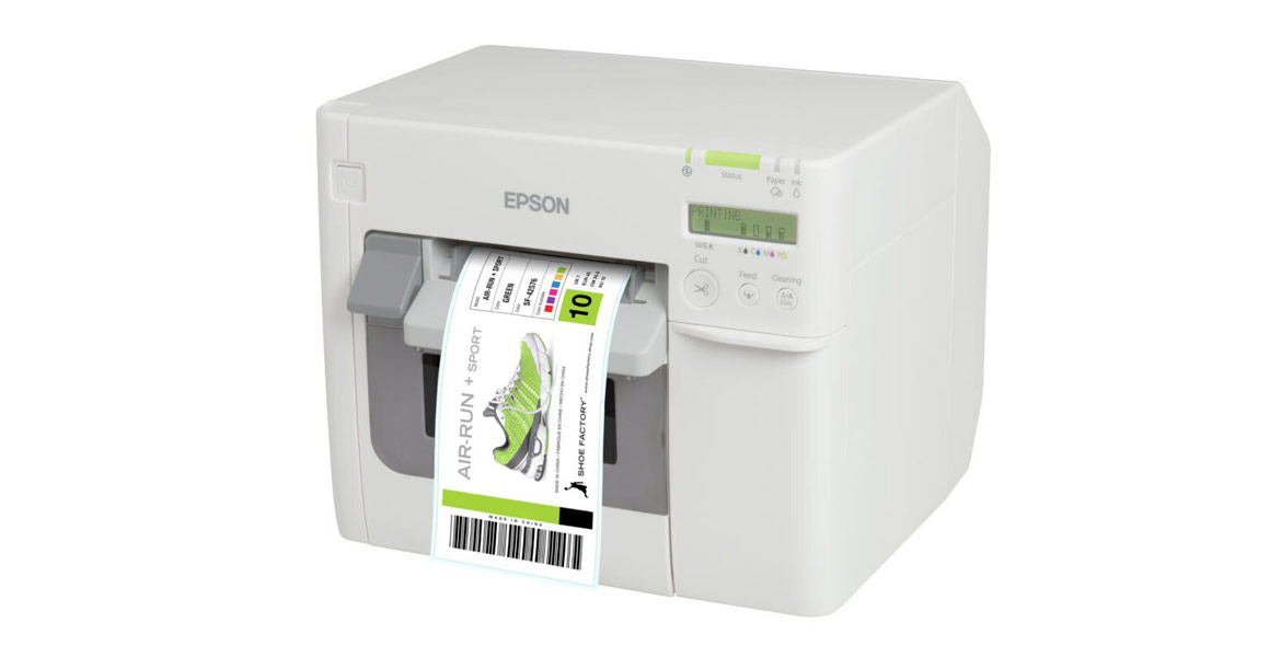 Affordable Industrial Label Printing with the Epson TM-C3500 Colour Label Printer