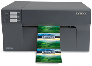 LX900 printing tea labels