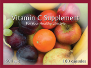 Vitamin label printed with LX400