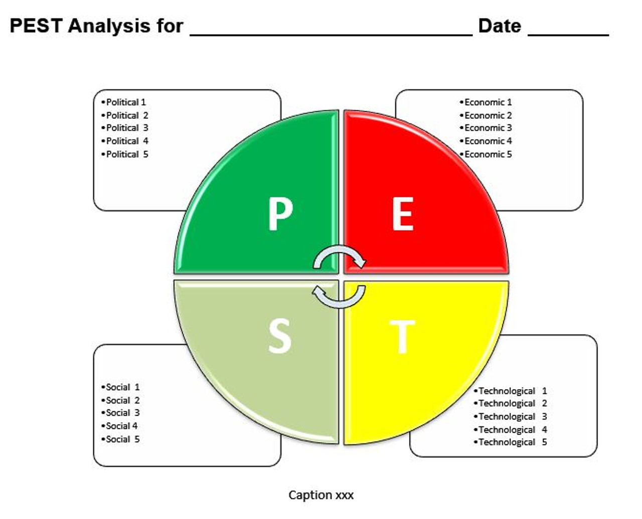PEST Analysis Ms-Word Template Inside Pestel Analysis Template Word 2