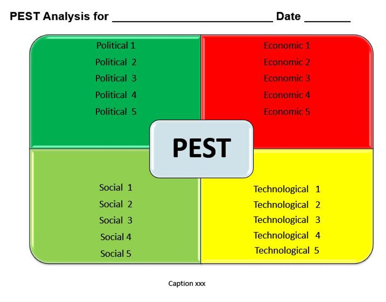 PEST Analysis Ms-Word Template Pertaining To Pestel Analysis Template Word 2