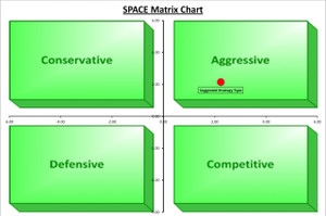 SPACE Matrix Chart Template