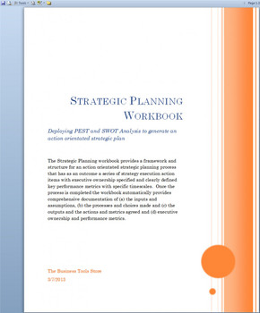 Strategic Planning  and Implementation Workbook