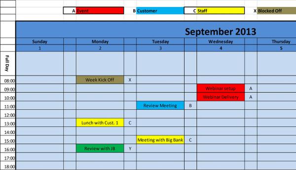 Printable Calendar 2018 Daily View