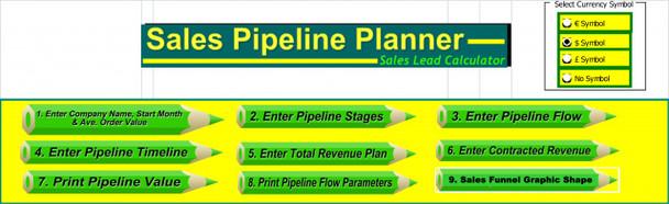 Sales Pipeline Template | Sales Funnel Template