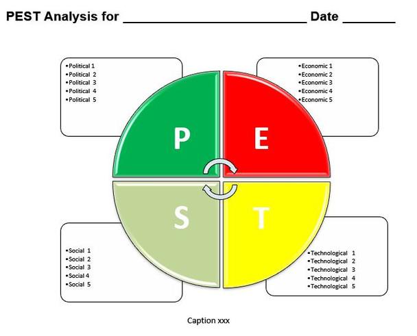 PEST Analysis Template MS-Word  - 3
