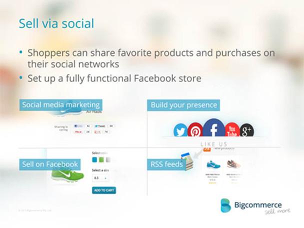 Big Commerce Social Sell