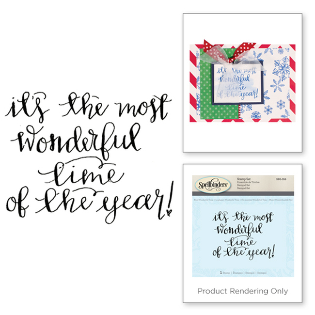Most Wonderful Time Holiday Stamps