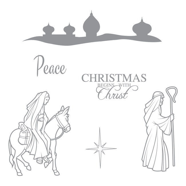 Bethlehem Journey Stamp Set