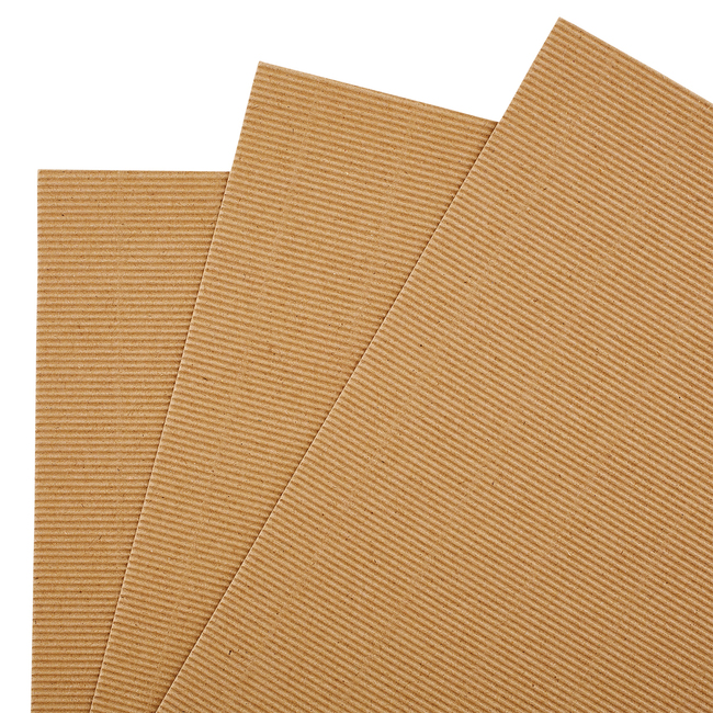 Corrugated Stock Cardstock sheets