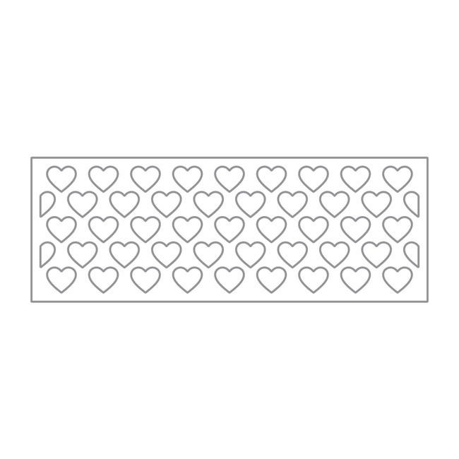 Heart Strip Die Set