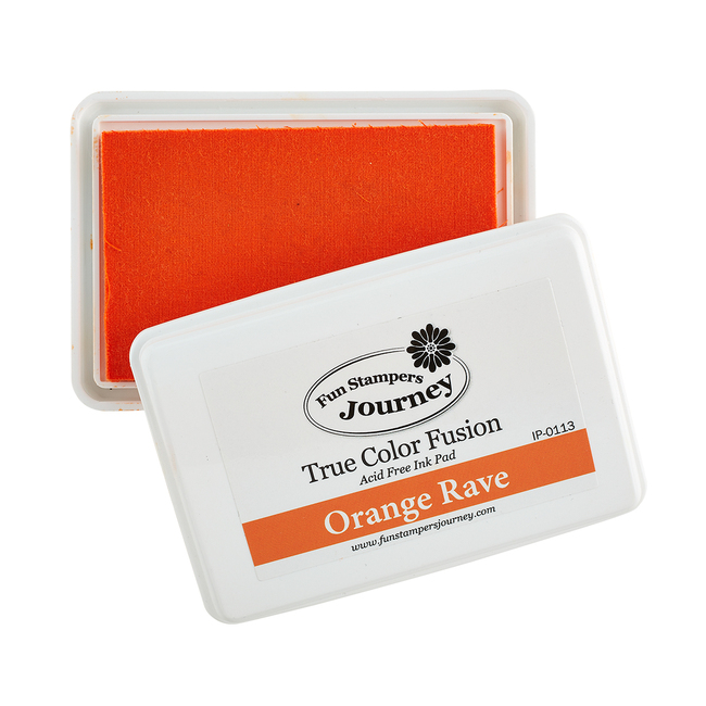 Orange Rave Ink Pad