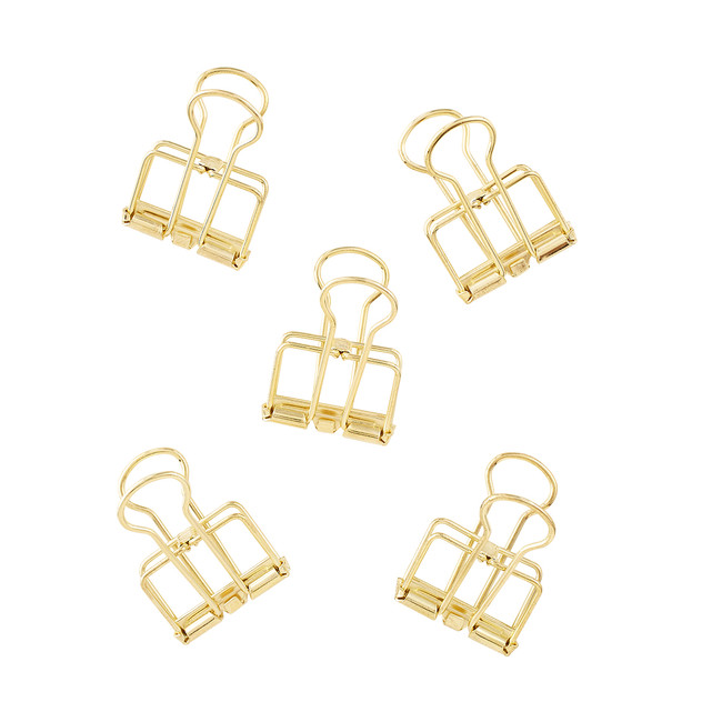Outline Clips Binder Clips
