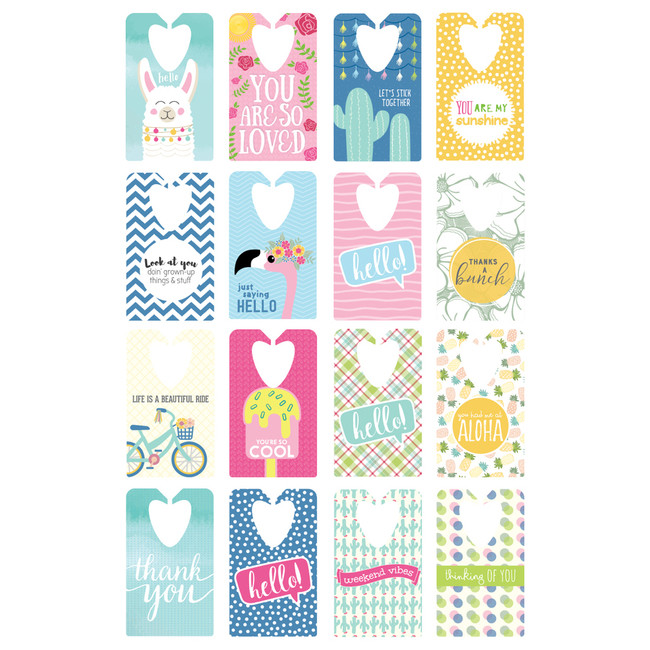 Sunshine Tag Set Pre-Printed Tags