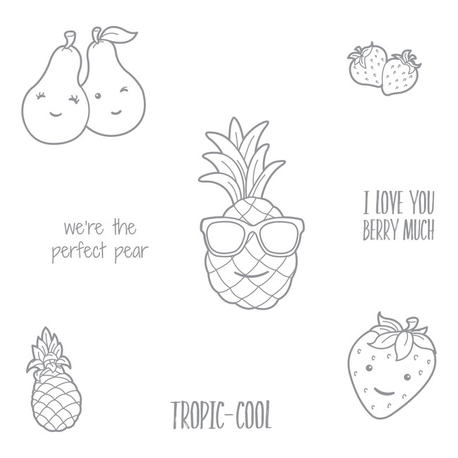Tropic-Cool Stamp Set