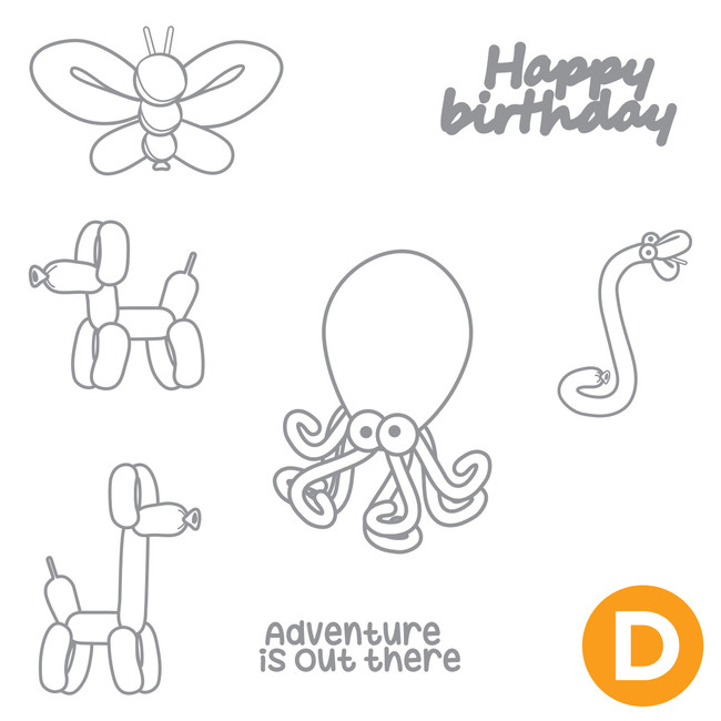 Twisted Friends Stamp Set