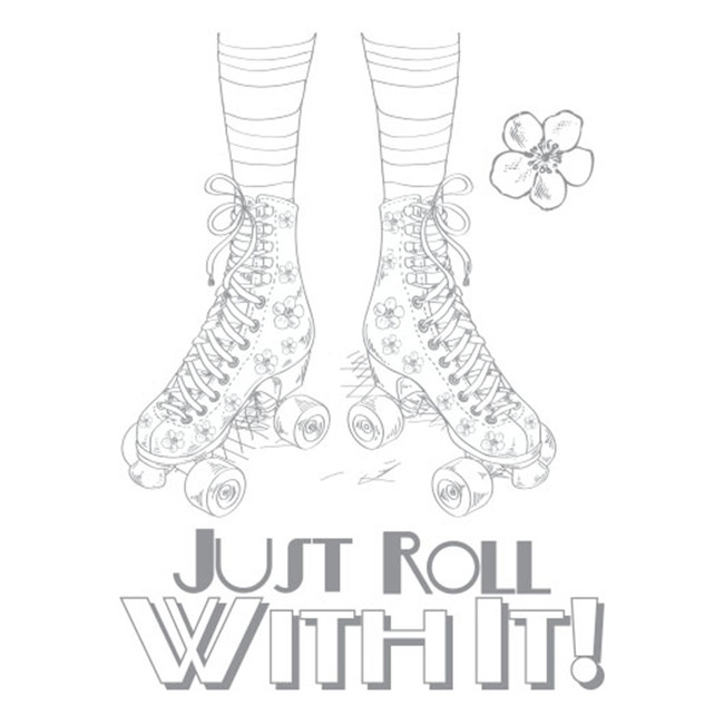 Roll with it! Artist Trading Stamp