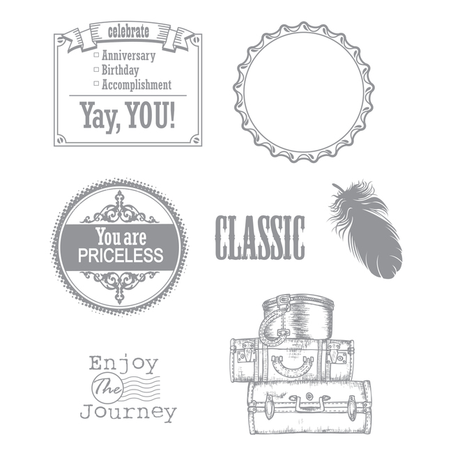 Classic View Stamp Set