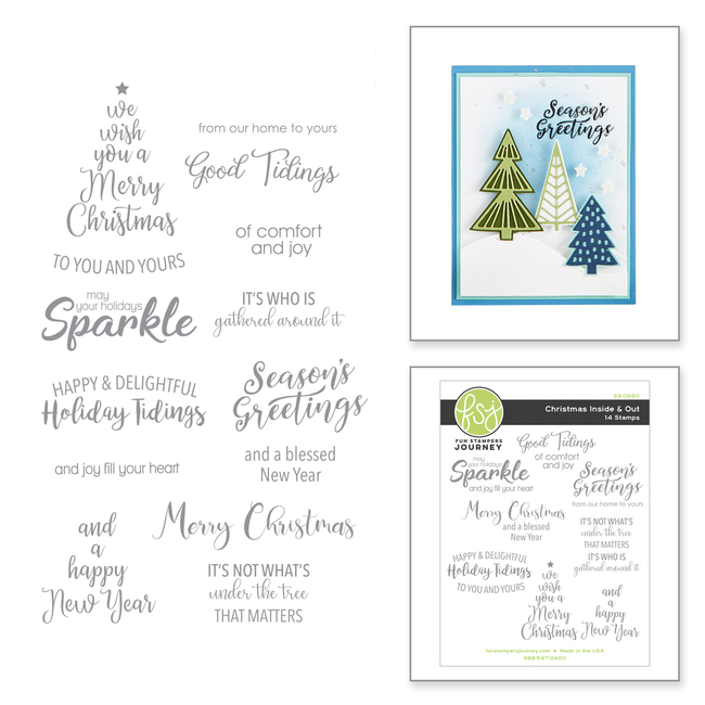 Christmas Inside & Out Stamp Set