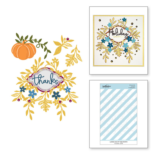 Fall Flora - Large Die of the Month Club