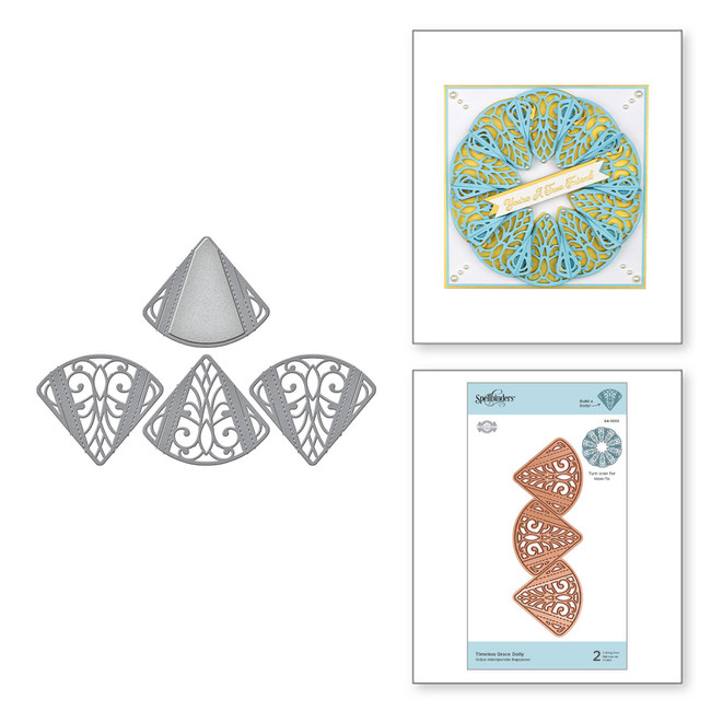 Timeless Grace Doily Etched Dies from Dimensional Doilies by Becca Feeken