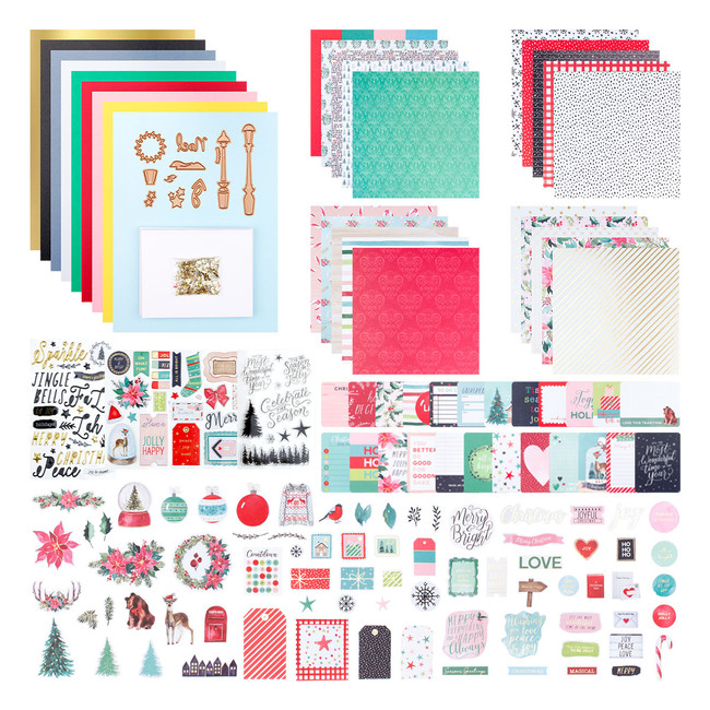 Merry Wishes - Card Kit of the Month Club