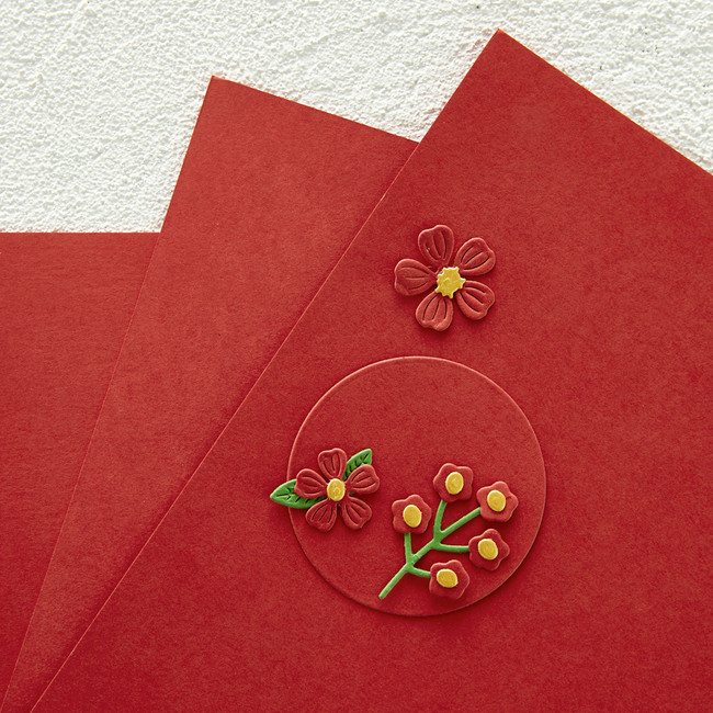 "Pomegranate Color Essentials Cardstock 8.5"" x 11"" - 10 Pack"