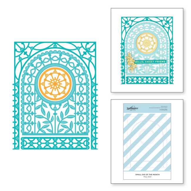 Arched A2 & Slimline Card Creator - Small Die of the Month