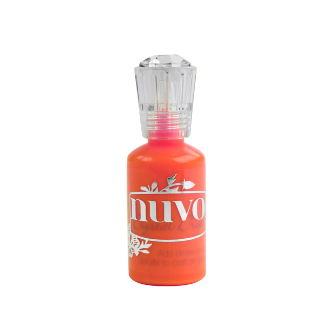 Nuvo Crystal Drops Ripened Pumpkin Gloss by Tonic Studios 1 fl. oz Bottle with Detail Tip