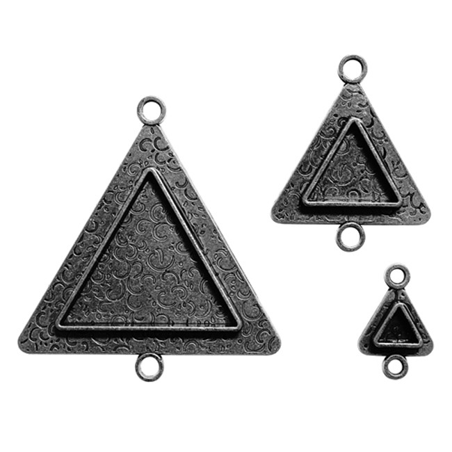 Media Mixage Triangles Two - Silver