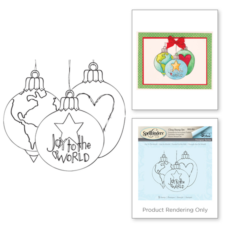 Joy to the World Holiday Stamps by Tammy Tutterow