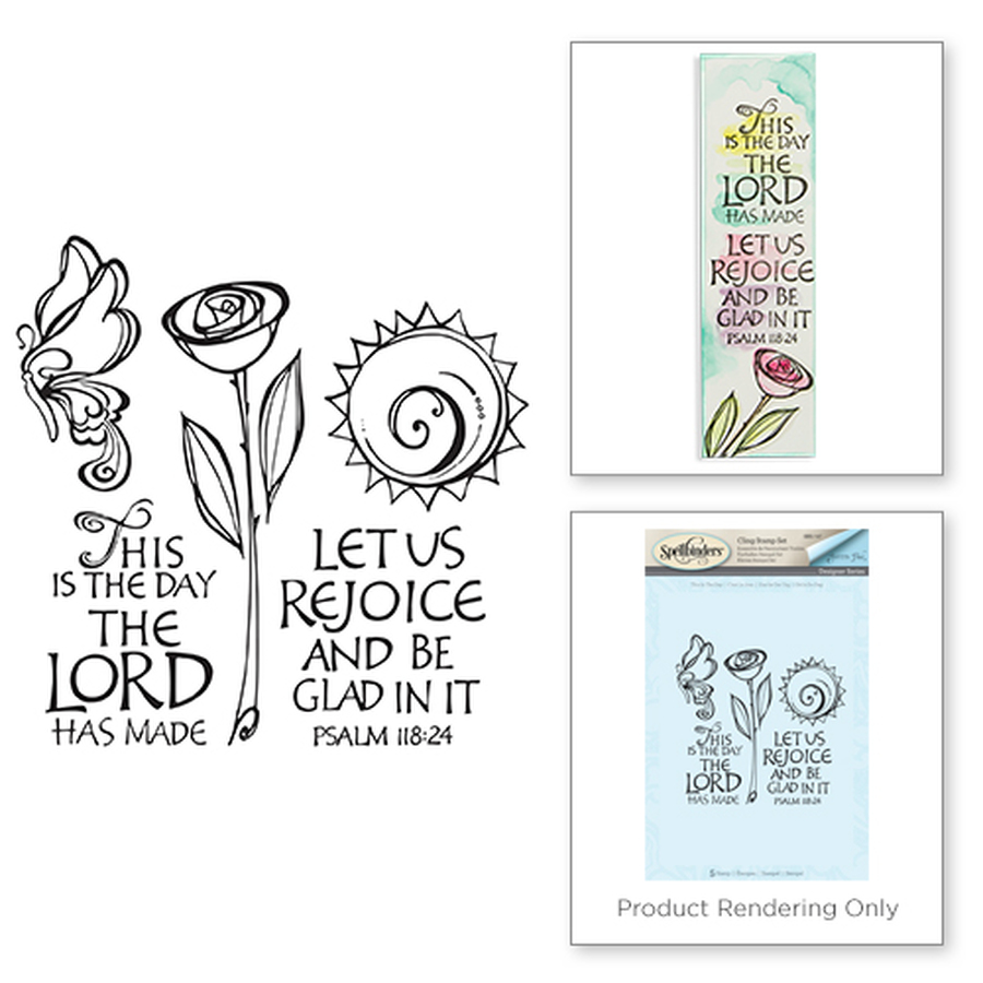 This is The Day Stamps Bible Journaling by Joanne Fink
