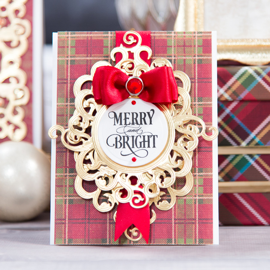 Holiday Frame  - Large Die of the Month Club