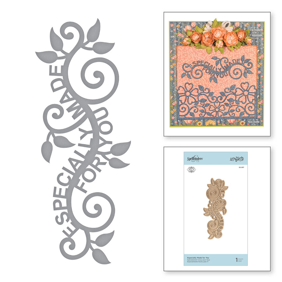 Shapeabililties Especially Made for You Etched Dies Blooming Garden by Marisa Job