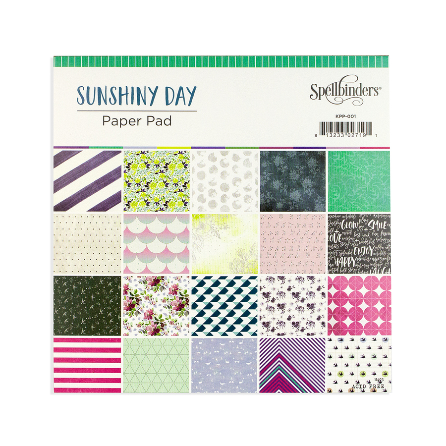 Sunshiny Day Paper Pad - Card Kit of the Month Extras