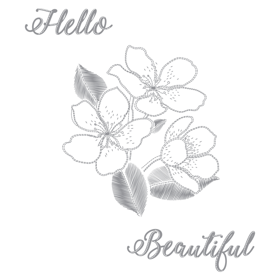 Beauty Blooms Stamp Set