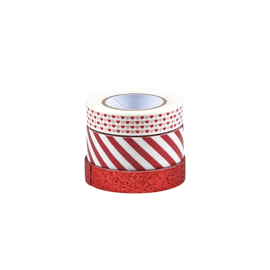 Candy Apple Washi Tape