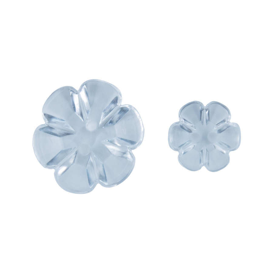 Clear Blooms Accents Buttons