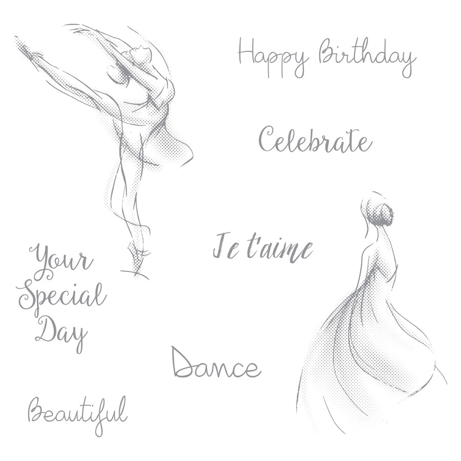 Dance Life Stamp Set