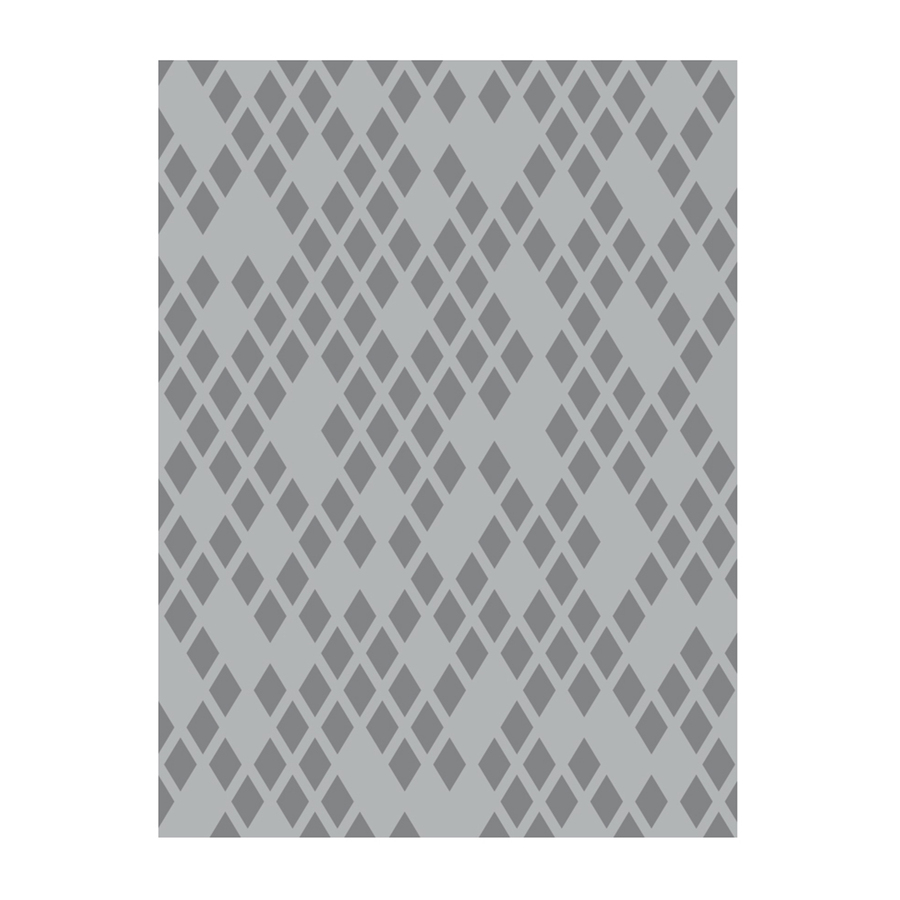 Diamond Netting Embossing Folder