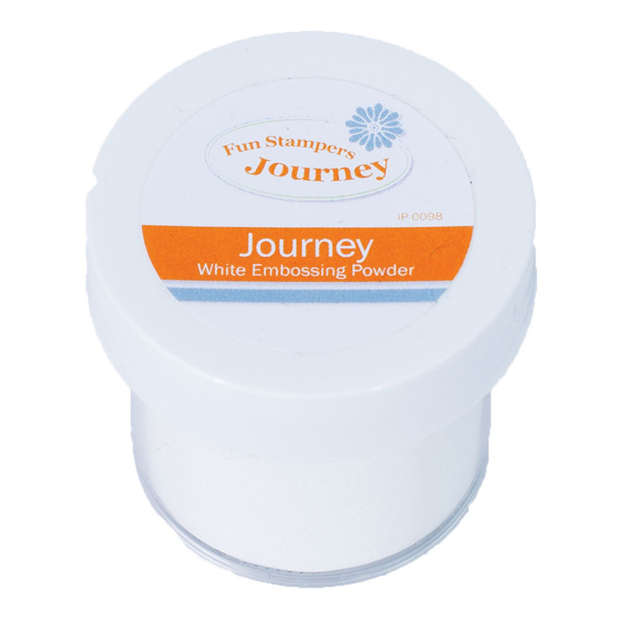 Journey White- Embossing Powder