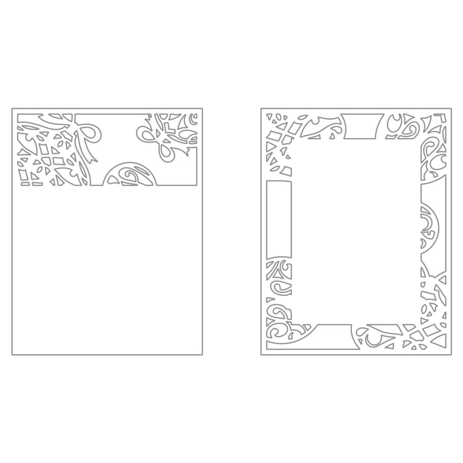 Ornamental Frames Die Set