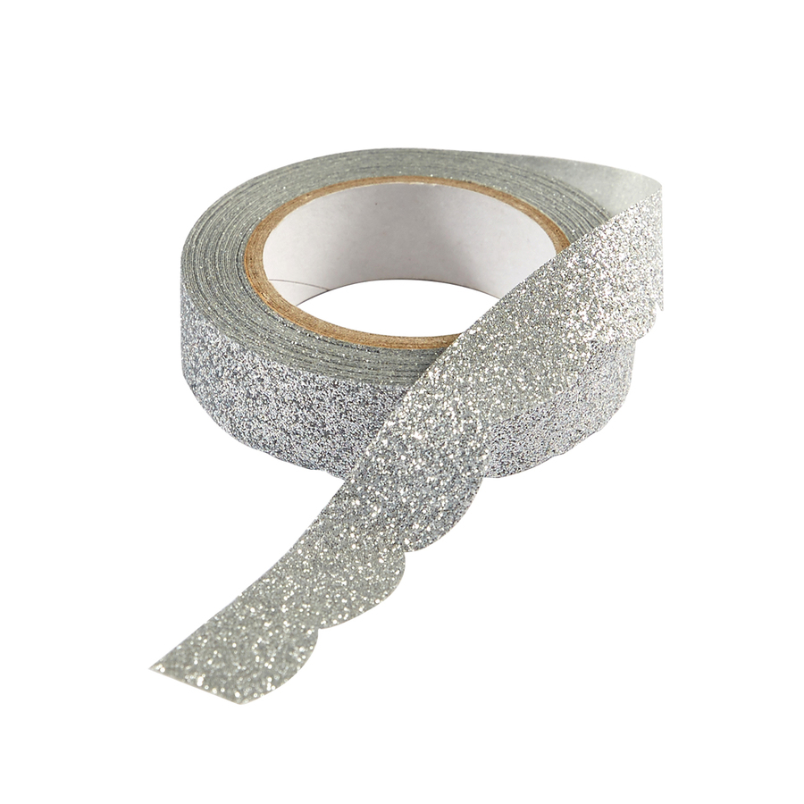 Silver Sparkle Washi Tape