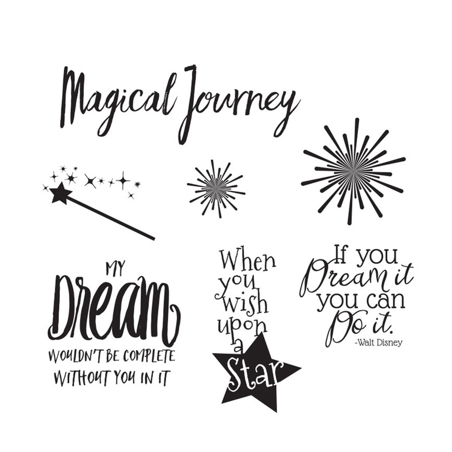 Magical Sticky Quotes stickers