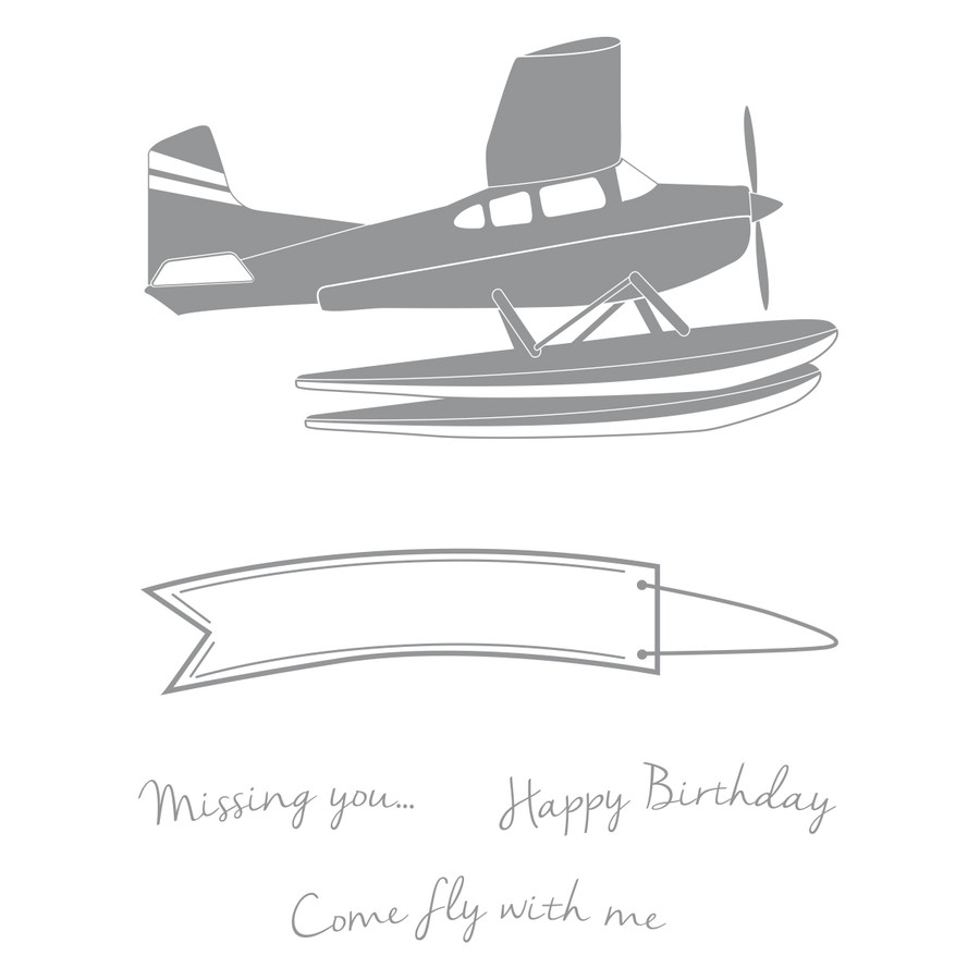 Come Fly Artist Trading Stamp