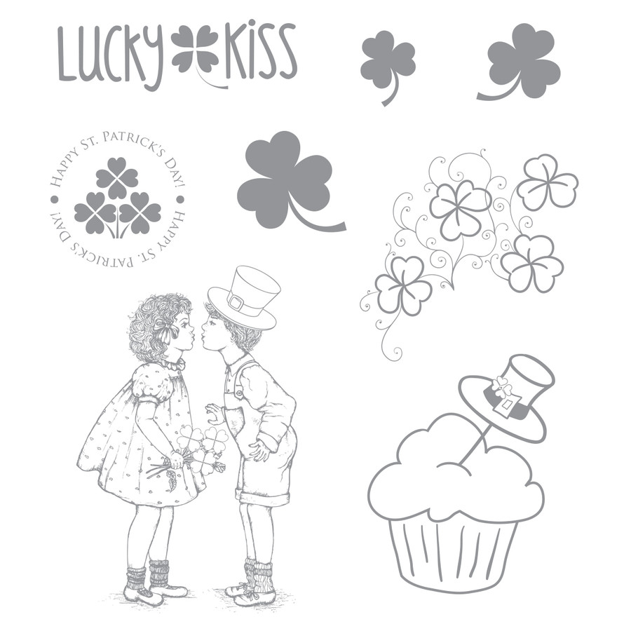 Lucky Kiss Stamp Set