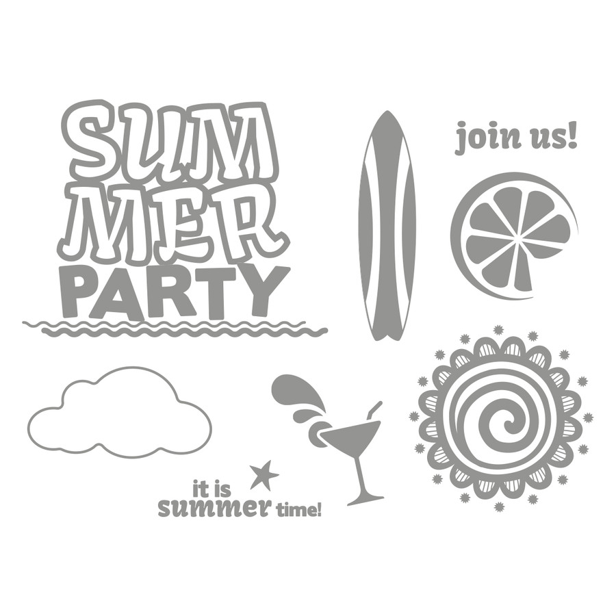 Summer Party Stamp Set