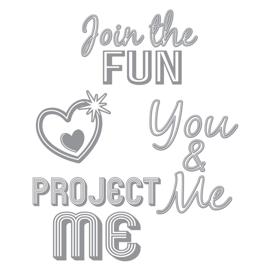 Project Me Stamp Set